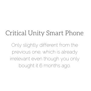Critical Unity Smart Phone (1)